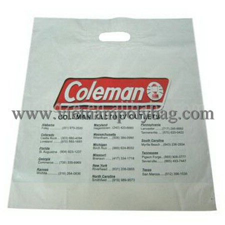 Degradable reinforced handle bag plastic bag made in Vietnam