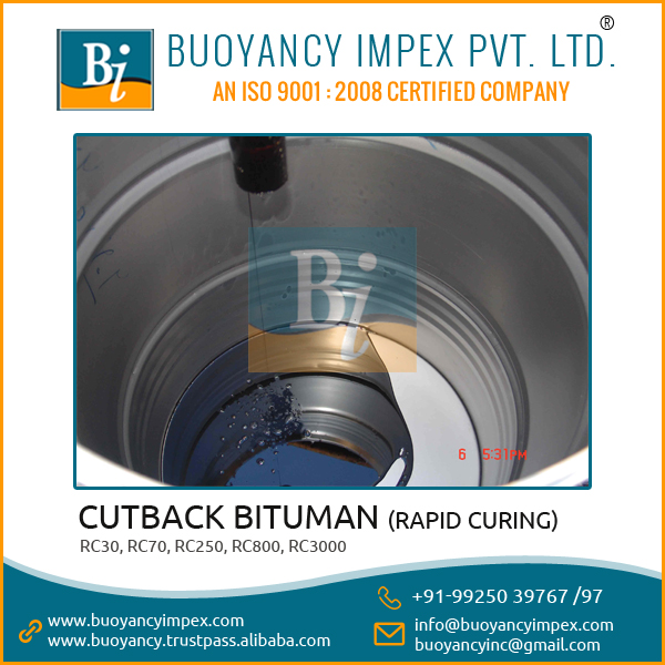 Long Shelf Life Cut-Back Bitumen with Superior Quality