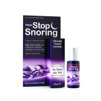 Helps Stop Snoring Spray, 2 OZ by Essential Health Products