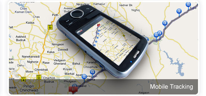 Mobile Application for smart phone - Track your mobile phone. Android tracking application