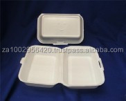 Polystyrene Foam Box no 31 : Lunch box no division