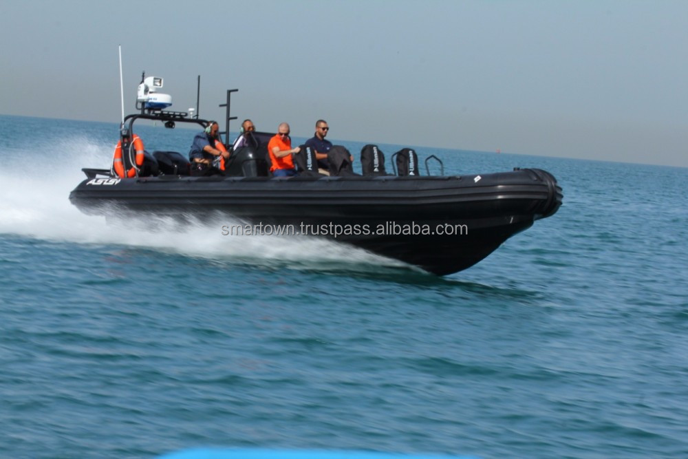 Rigid Inflatable Boat for Anti Piracy - Model RIB 9.5 Anti Piracy. Made in the UAE