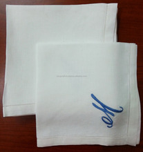 Personalized Wedding napkins, Custom monogram wedding favors, monogrammed linen napkins no.12
