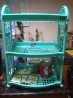 kitchen use plastic rack