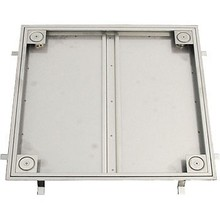 odor-resistant and durable floor mounted acccess hatch made in Japan