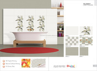Ceramic Wall Tile, Digital Wall Tile, 3D Wall Tile, Bathroom Wall Tiles, Kitchen Wall Tiles 6006