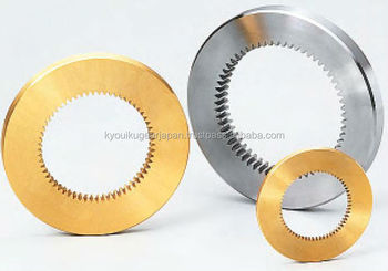 Internal gear Module 0.8 Brass Made in Japan KG STOCK GEARS
