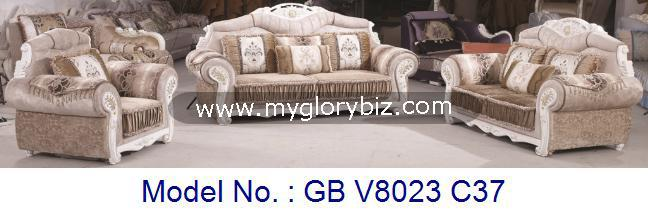 Royal Modern Chaise Sofa Set Living Room Furniture, fabric and wooden royal luxury sofa, living room furniture