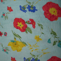 Popular Textile Fabric Latest Printed Design With Allover
