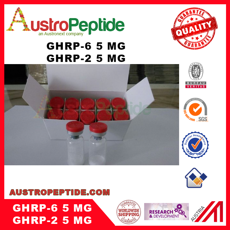 2016 high quality hot sale Hexarelin from china high pure peptide GHRP-6 ghrp6 cjc1295