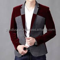 Cashmere Mens Velvet-Collar notched lapels Long Coat for winter