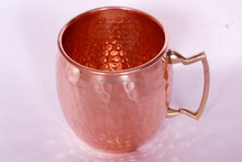 Pure Solid Hammered Copper Mug for Moscow Mule