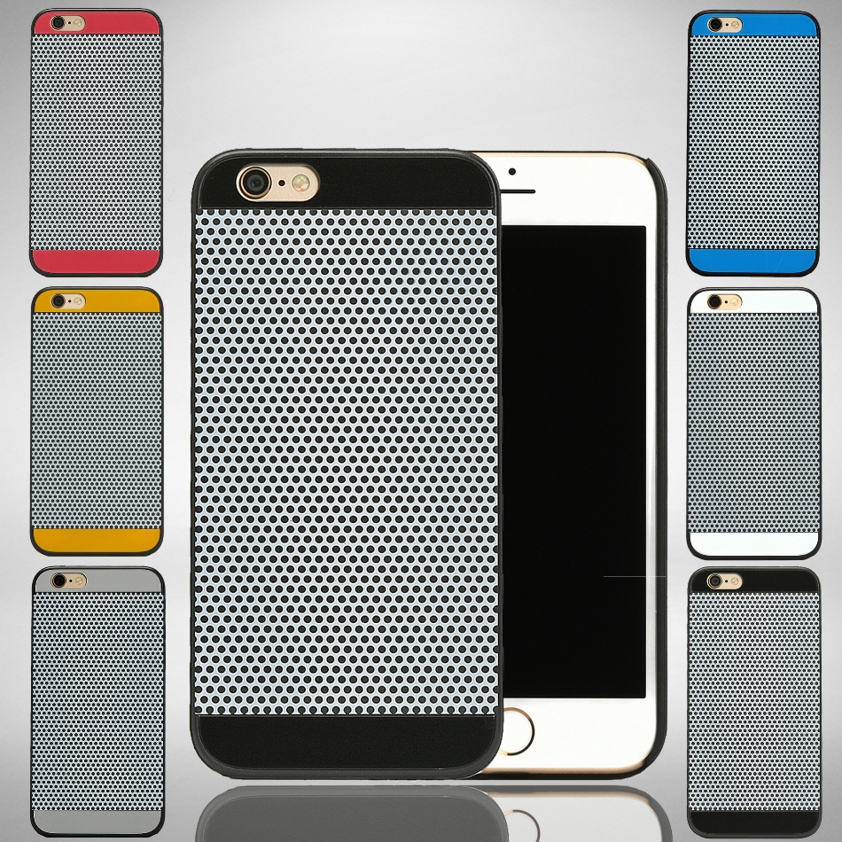 "Dotted Hard Plastic Slim Cover Case for iPhone 6 & 6s 4.7"" Wholesale Los Angeles"