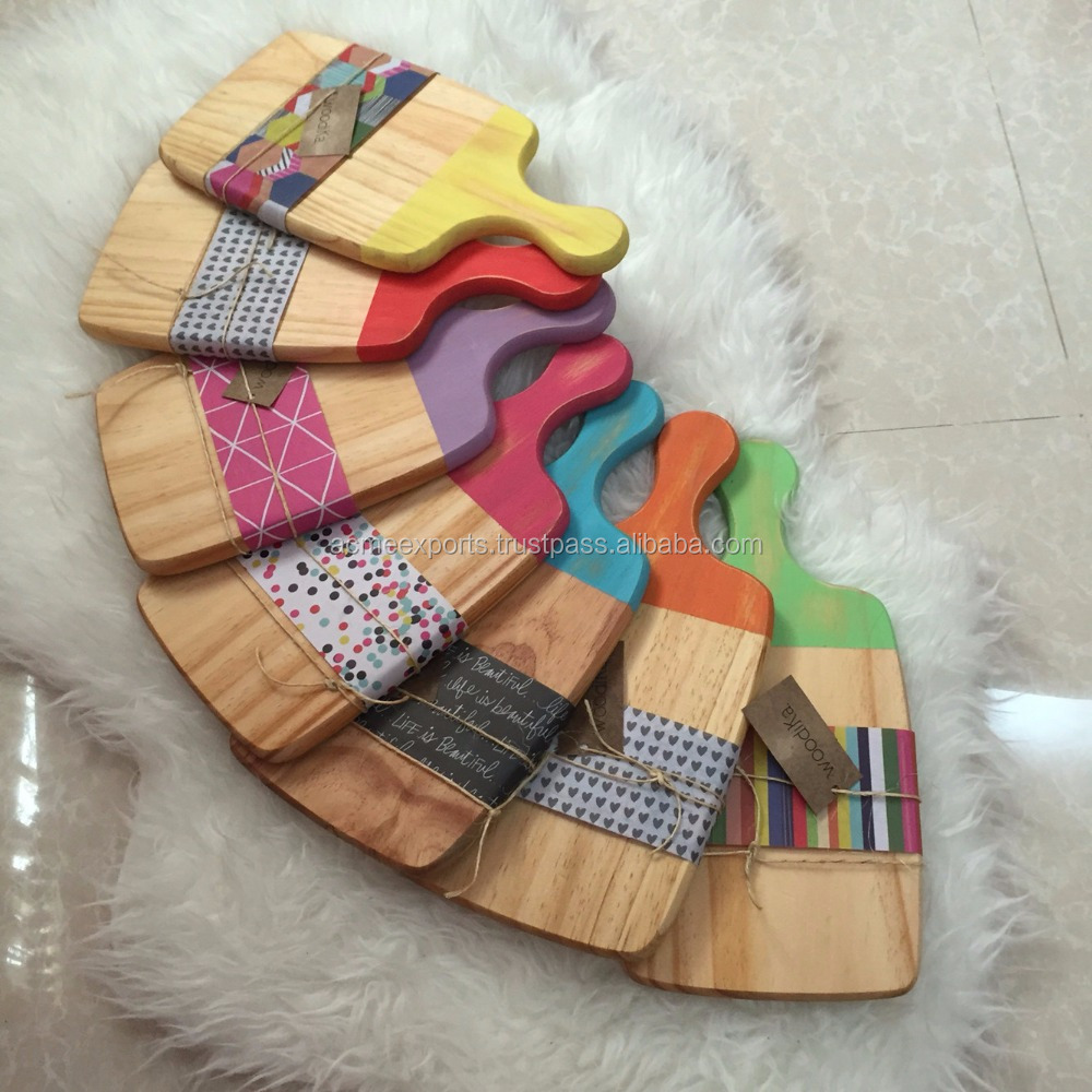 color Wooden coding chopping board With High Quality