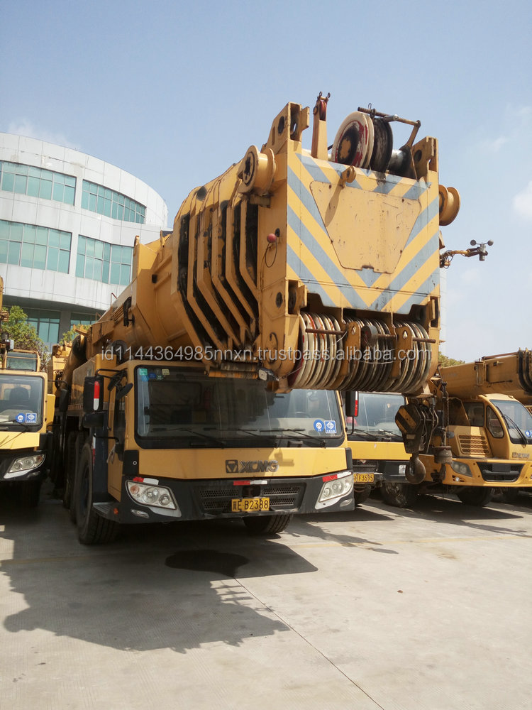 500 ton all terrain crane 110 ton mobile crane first brand in china