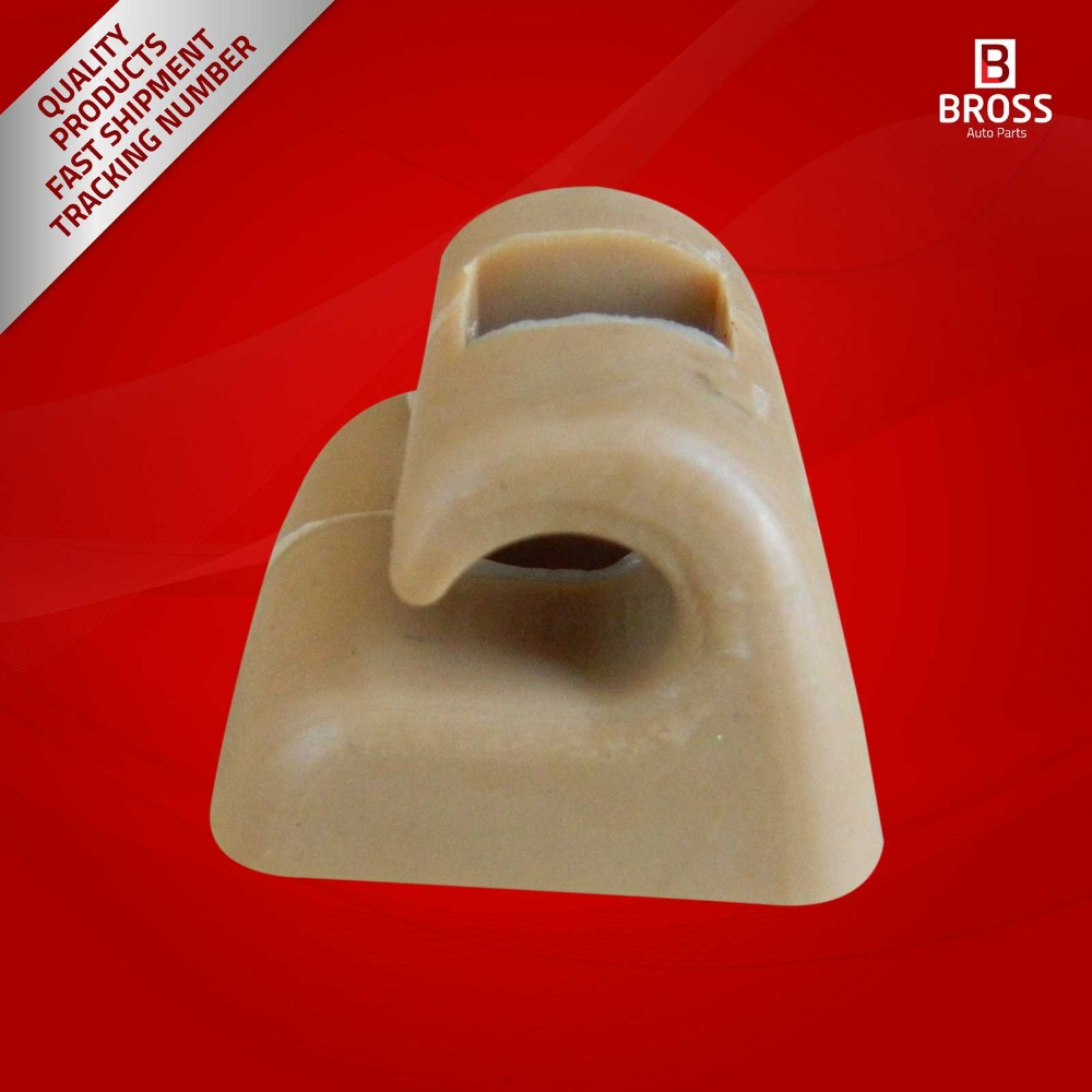 2 Pieces Sunvisor Sunshade Retainer Leg Repair Clips For Mercedes E Class W123 W124 W126 W140 W201 Tan Color