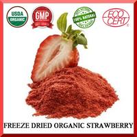 Organic freeze dried strawberry powder / granules / whole