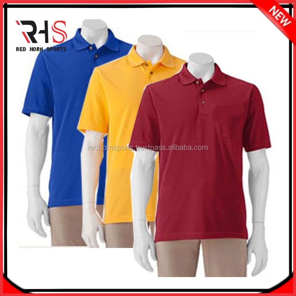 Custom Embroidered Logo High Quality Promotional Polo Shirt