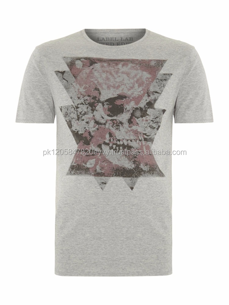 e custom high quality fashion printed light weight cotton men's t