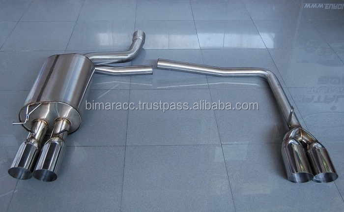 Exhaust for bmw E60 twin