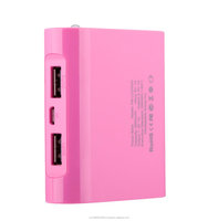 Dual USB LCD Power Bank 5200mAh USB External Mobile Backup Powerbank Battery for mobile Phone Universal Charger