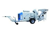 Mortel Meister CM 20 Mobile Portable trailer concrete pump