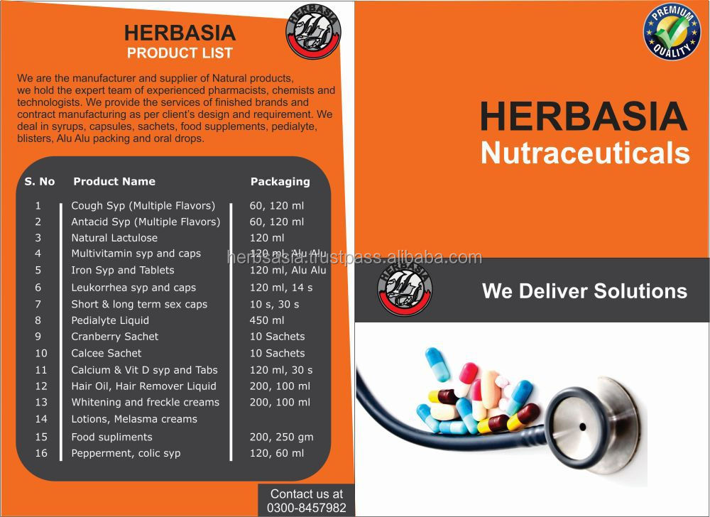Herbal Supplements Contract/Toll Manufacturing