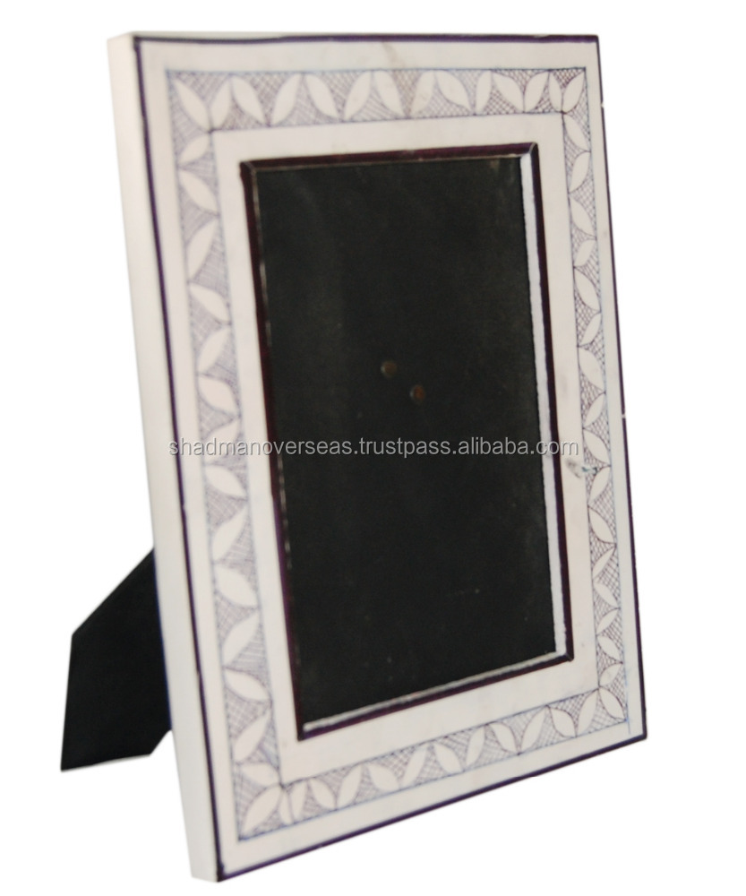 Hand Printed wooden Picture Photo Frame - 12175