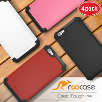 2016 Top Quality rooCASE Exec Tough PRO Bumper TPU PC Armor case for iPhone 6 6s Plus 5.5 inch (4 color pack) Whole sale