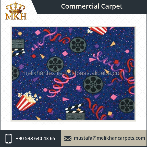 Commercial Grade Cinema Design Carpet