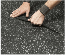 Anti-slip High Density Black Rubber Mat