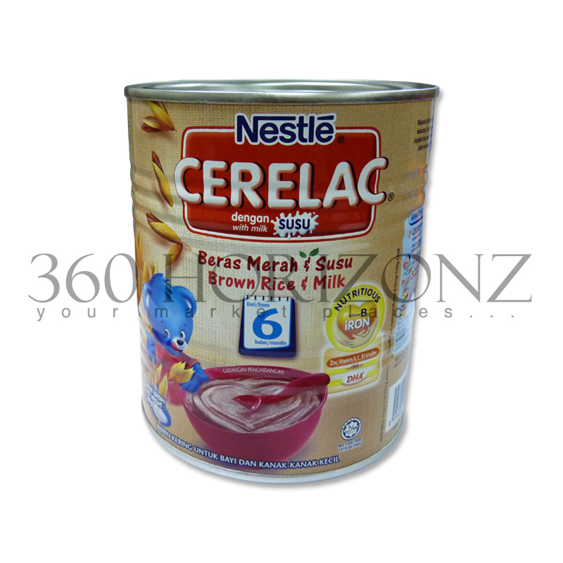 Nestle Cerelac Brown Rice & Milk