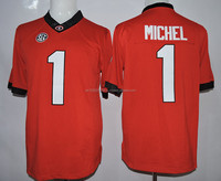 Best georgia bulldogs american football jersey college 27 nick chubb jerseys sony-michel