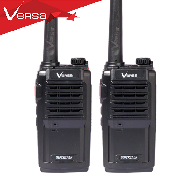 Versa Quicktalk 5W SRRS, PMR, FRS, LPD Walkie Talkie Two-way Radio