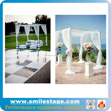 party drape pole and square pipe and drape for wedding