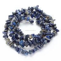 Be You Loose 33 inch Strand Blue Color Natural American Sodalite Gemstone Uncut Chip Beads