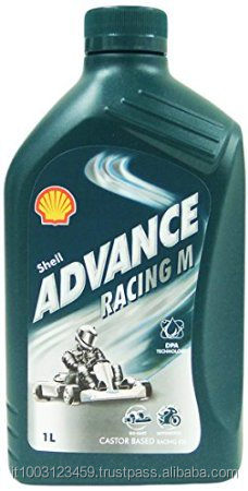 Castor oil for 2 stroke engine Advance Racing M 30 Lubricant 1 liter plastic bottle