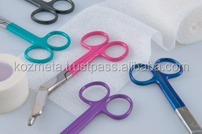 Operating scissors straight curved Dissecting scissors Lister bandage Mayo ent eye surgical instruments scissors