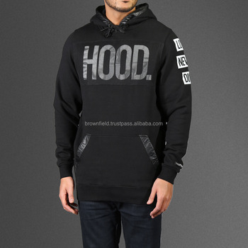 100% cotton plain fleece no zipper pullover jacket oversized cropped top gym supreme black manufacturers hoodie