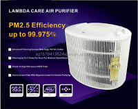 Lambda H14 medical grade filter Air Purifier - Big Foot
