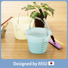 Various and Long-lasting home & garden plastic bucket with handle with Japanese style