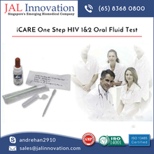 Clinically Proven HIV 1 & 2 Oral Fluid Test From Trusted Supplier