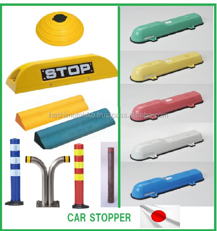 Safety car users light compact colorful corner pole made in japan