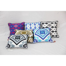 Traditional Suzani Embroidery Attractive Looking Cotton Cushion Covers