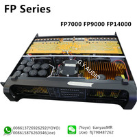 FP series FP7000 2 Channel Professional Audio Power Amplifier