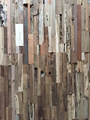 Recycled Teak wall panel