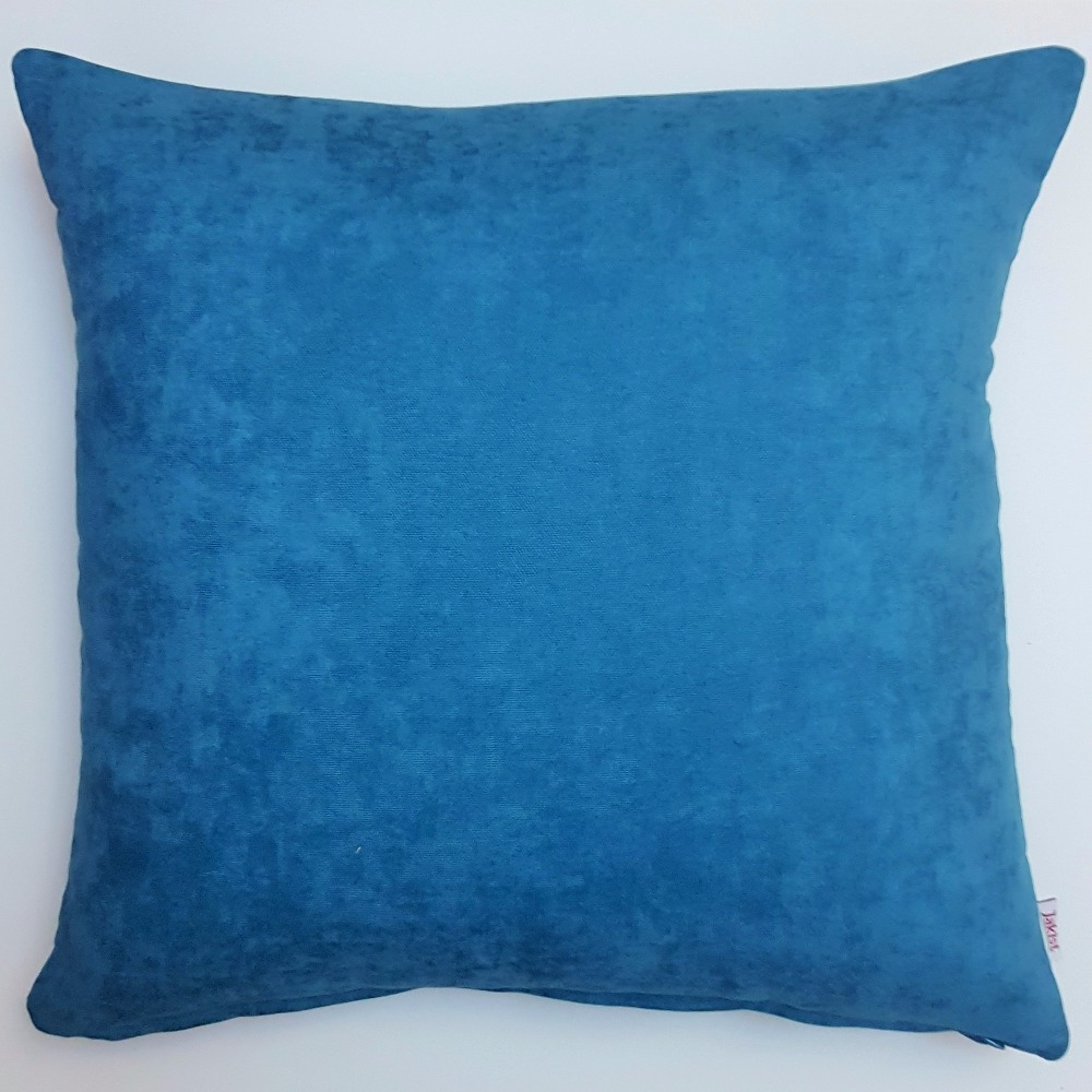 Jakist Cushion Cover 43x43 cm Petrol Blue