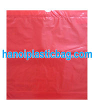 LDPE drawstring garbage bags on roll