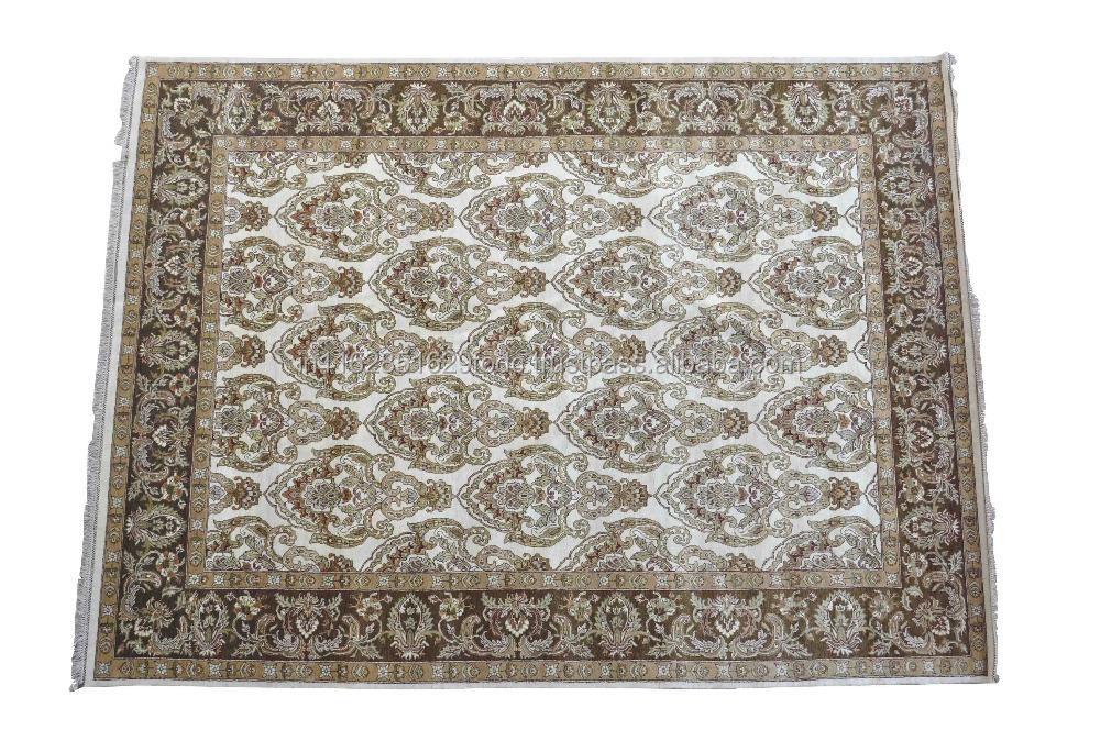 Verkehrs bereich boden teppich teppich beige braun 8x10 indien indien