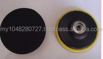 """ 3-inch ( 80 -type ) adhesive disk polishing machine , suction cups, screw holes M10, M14 optional , specify aperture shoot"""